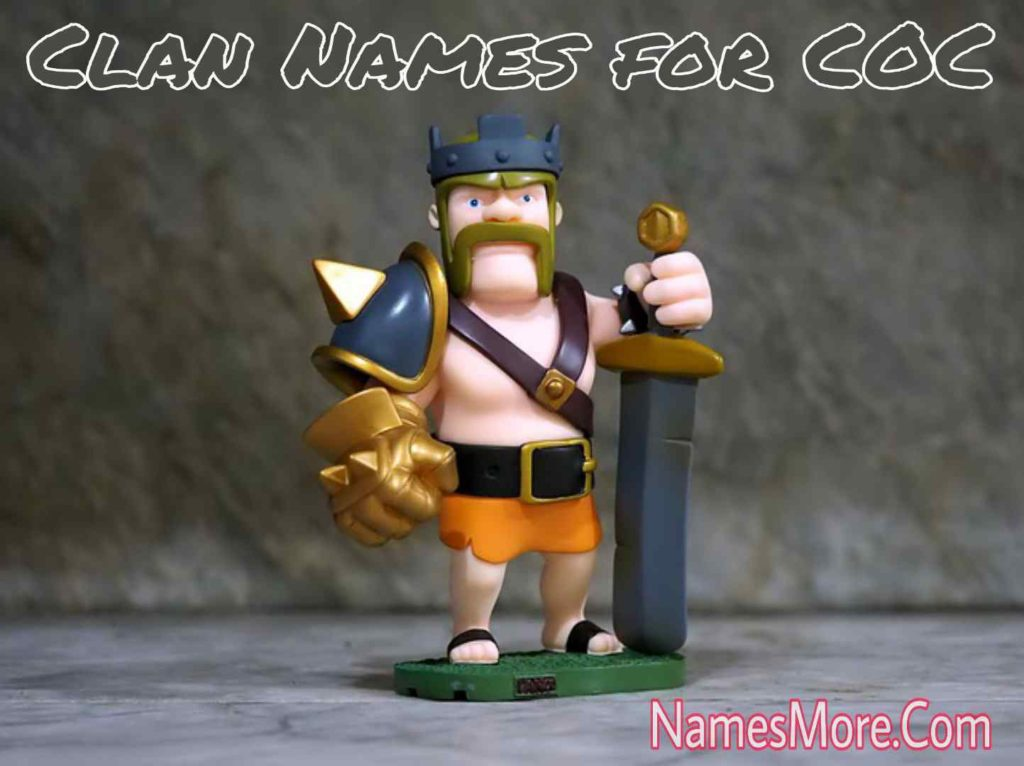 Clan Names for COC