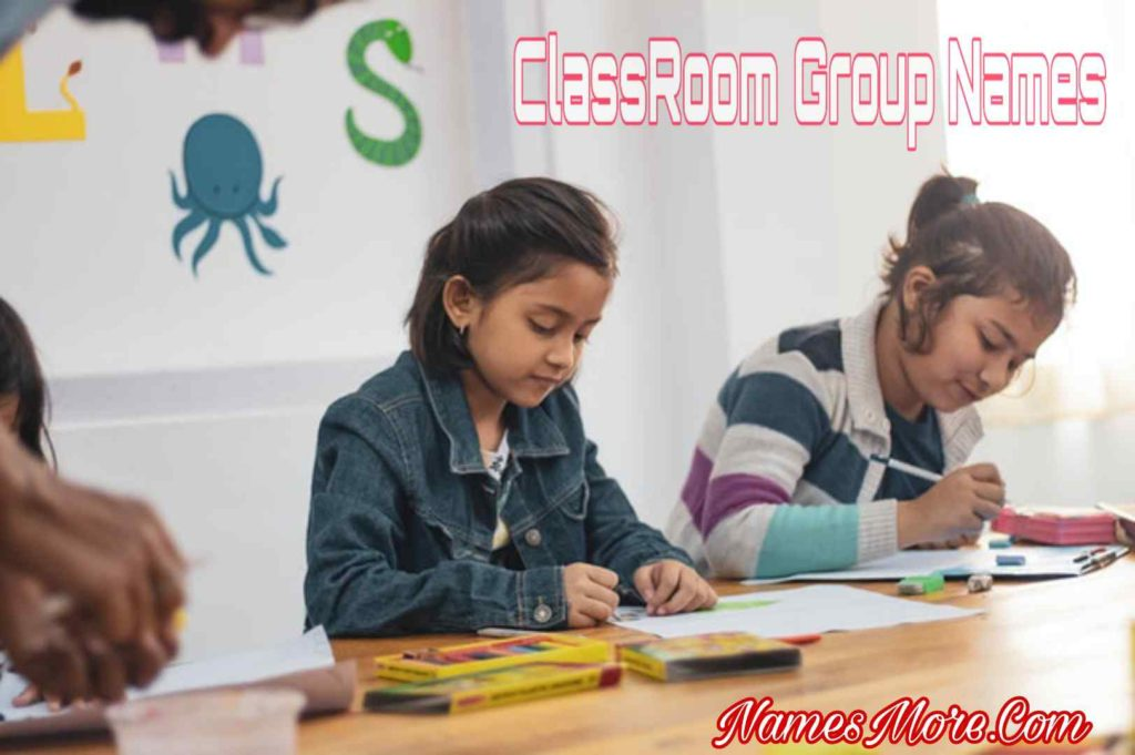 Classroom Group Names