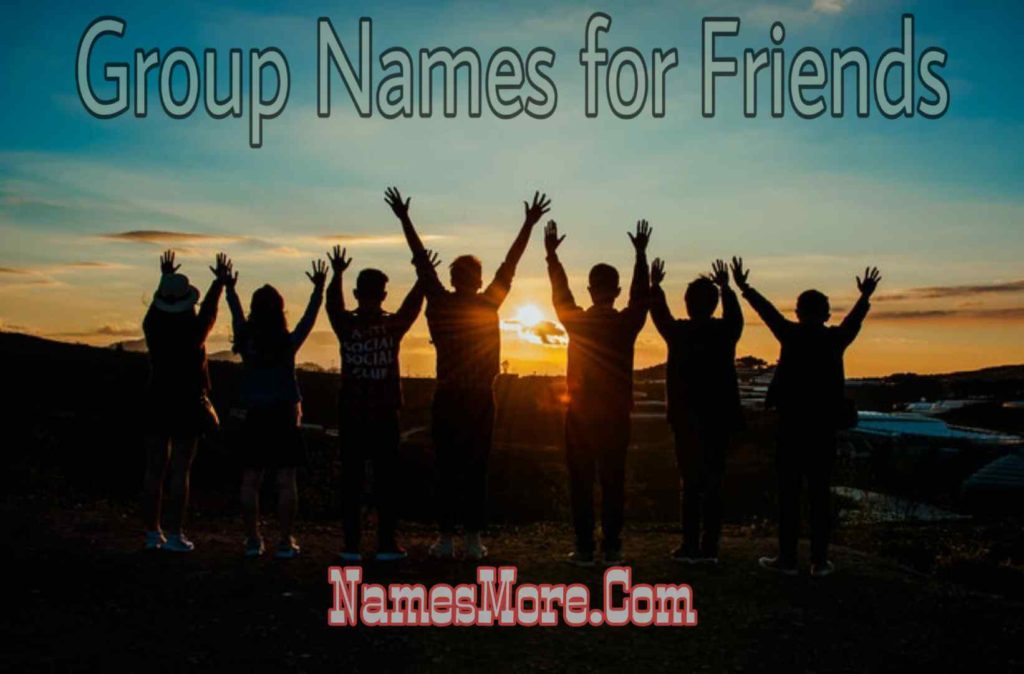 Group Names for Friends