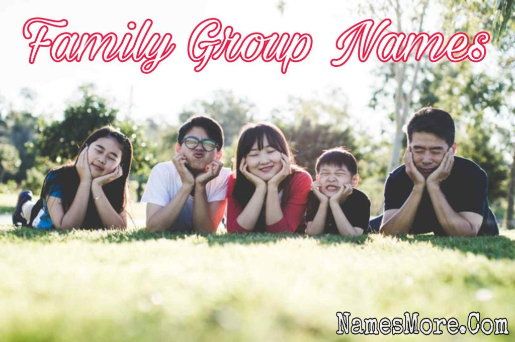 Family Group Names