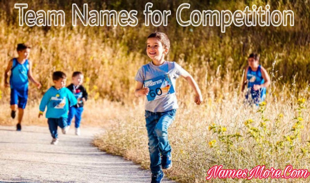 Team Names for Competition