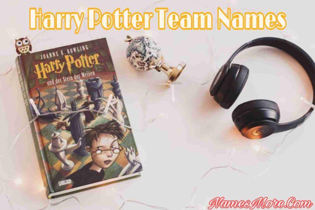Harry Potter Team Names