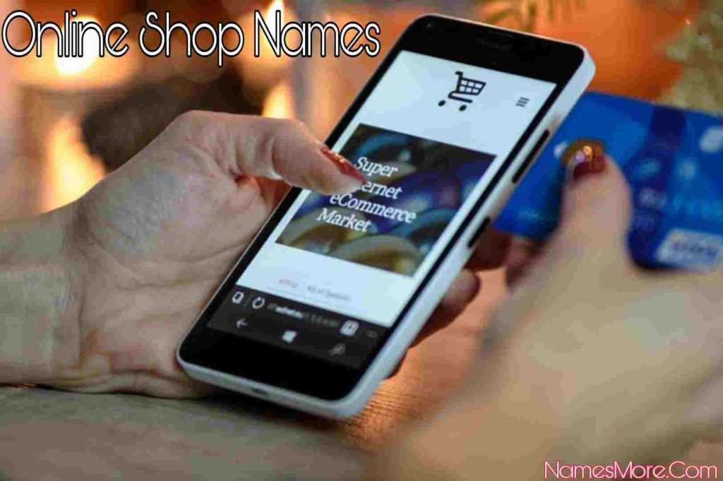 Online Shop Names