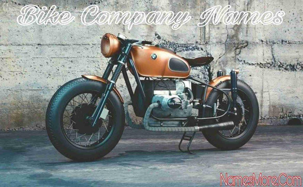 Bike Company Names