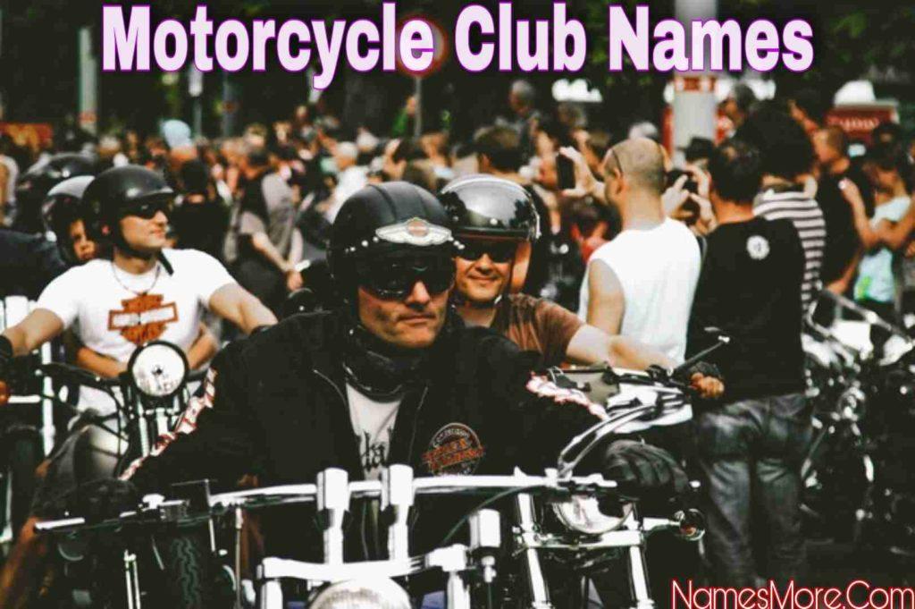 Motorcycle Club Names
