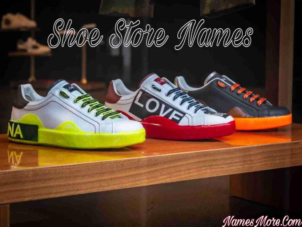 Shoe Store Names