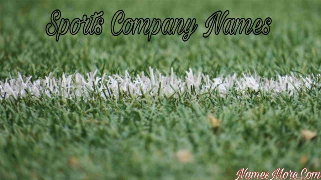 Sports Company Names