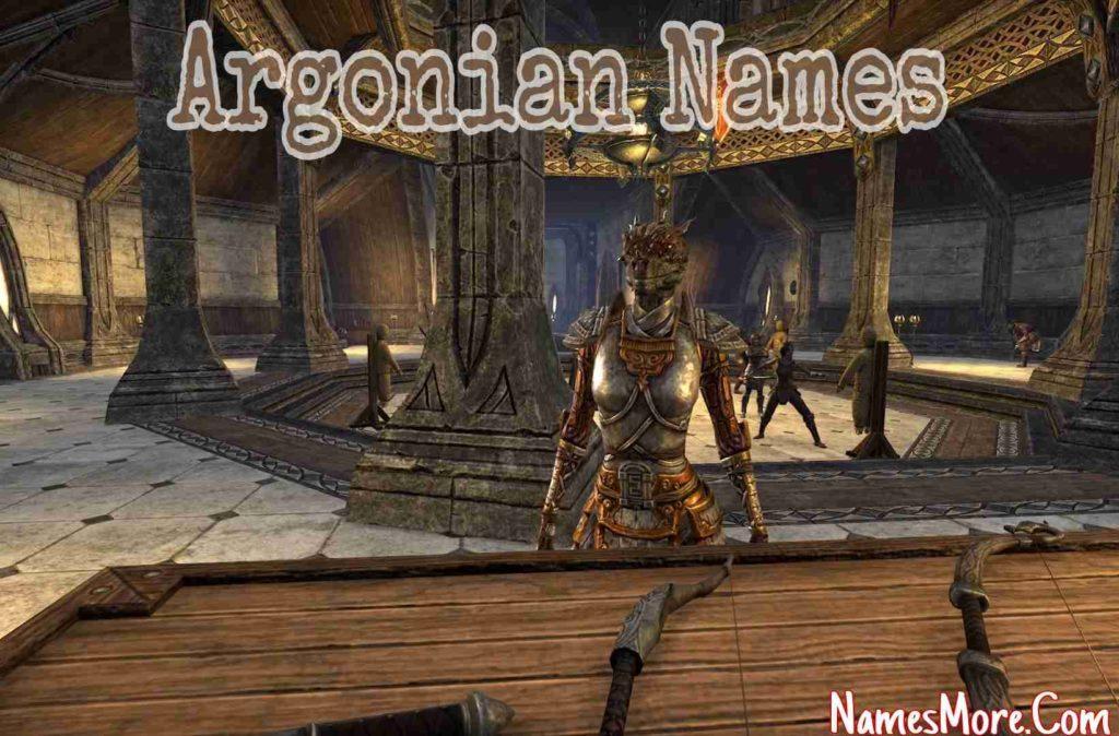 Argonian Names