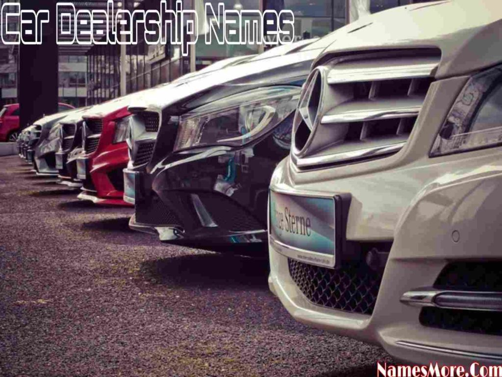 Car Dealership Names