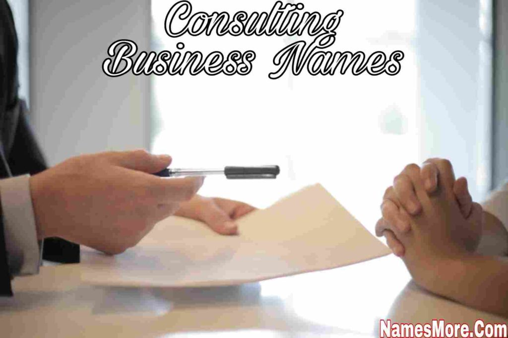 Consulting Business Names