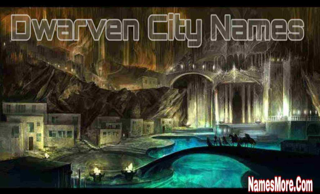 Dwarven City Names
