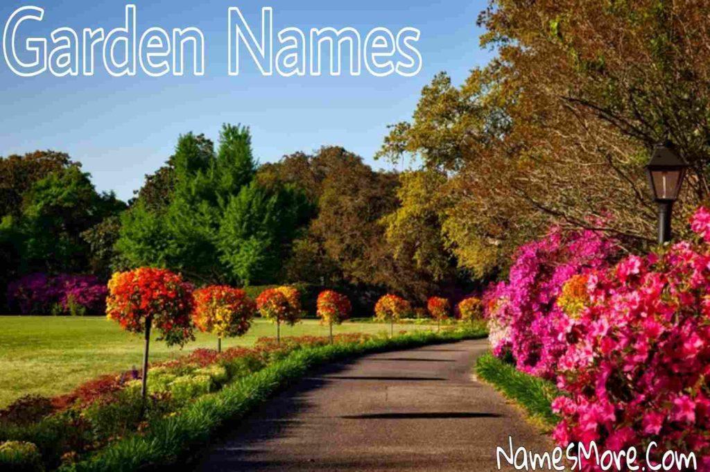 Garden Names