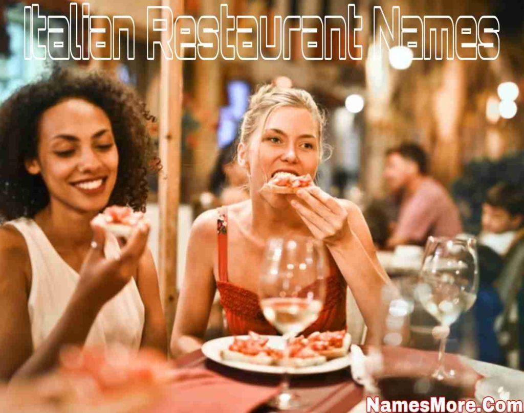 Italian Restaurant Names