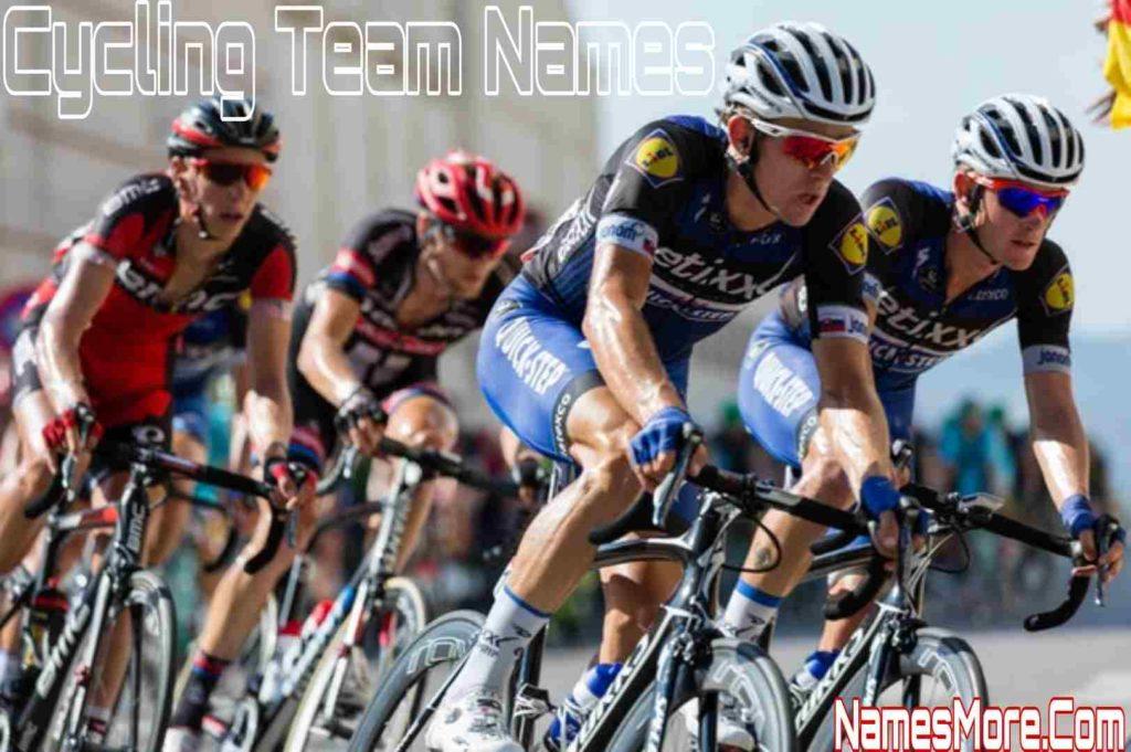Cycling Team Names