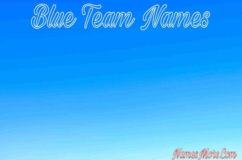 Blue Team Names