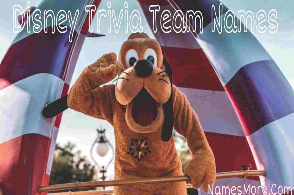 Disney Trivia Team Names