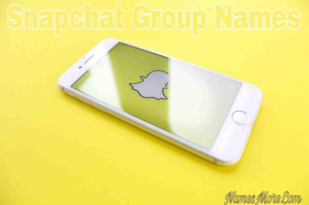 Snapchat Group Names