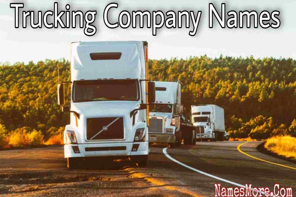 Trucking Company Names